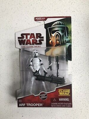 STAR WARS THE CLONE WARS ARF TROOPER FIGURE BNIB CW10