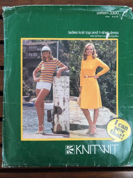 Knit Wit sewing patterns | Miscellaneous Goods | Gumtree Australia ...