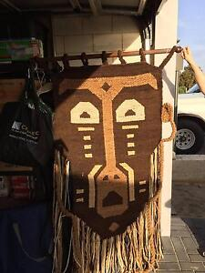 African Dolan Weaved Wall Art - One of a kind! Landsdale Wanneroo Area Preview