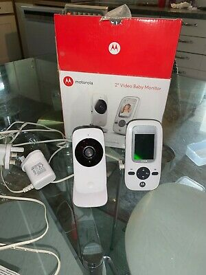 Motorola MBP481 Video Baby Monitor 2 Inch Display in Excellent Condition