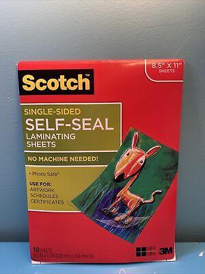 Self Seal Laminating Sheets Single Sided