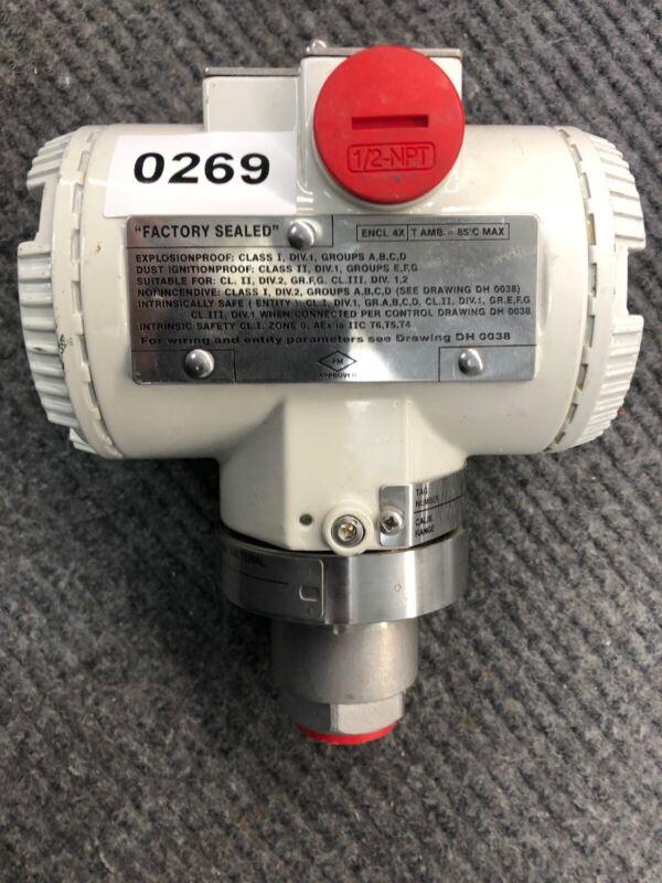 ABB Pressure Transmitter 2600T Series 264HSMSBA1E6B1N2 2600 T