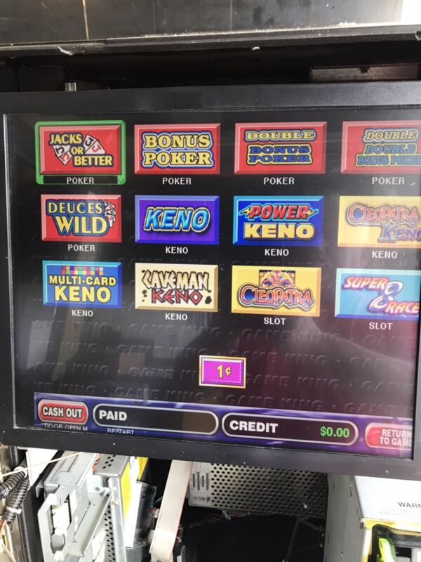 IGT Game King 5.0 Software And 3902 Board. Free Shipping And Fresh New Battery.