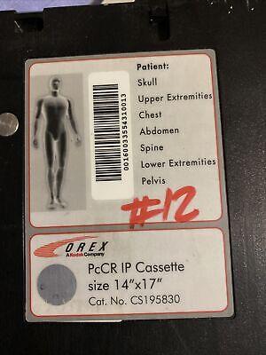 14x17in Orex Pccr Ip Cassette No Plate