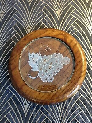 French Art Deco 1930's small decorative coaster for wine-Great condtion