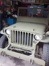 1942 Jeep WW2 Willys Highton Geelong City Preview
