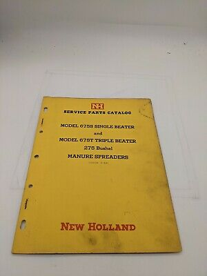 New Holland Service Parts Catalog 675 275 Manure Spreader 3-66