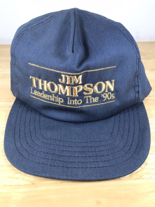 "Illinois Governor Jim Thompson Hat ""Leadership for the 90"