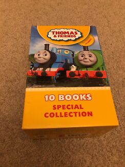 Thomas & Friends book set (10 hard cover books)