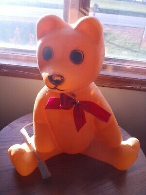 1988 UNION PRODUCT BEAR LIGHTED BLOW MOLD