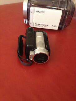 Sony video camera for sale Ingleburn Campbelltown Area Preview
