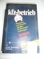 Buch, KFZ- Betrieb ,Reparatur und Einstelltabellen für PKW, 1987 Brandenburg - Großräschen Vorschau