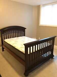 Double frame and mattress