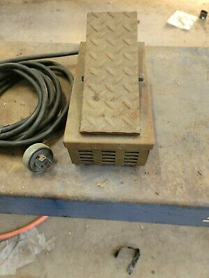 4 Wire Tig Foot Pedal Control