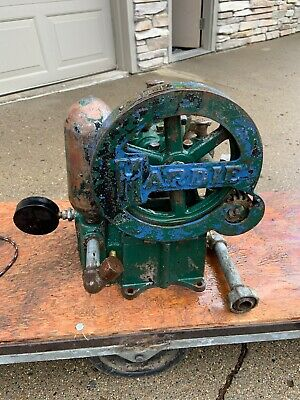 Antique Vintage Hardie Water Pump Hit Miss Engine Industrial Steampunk Old