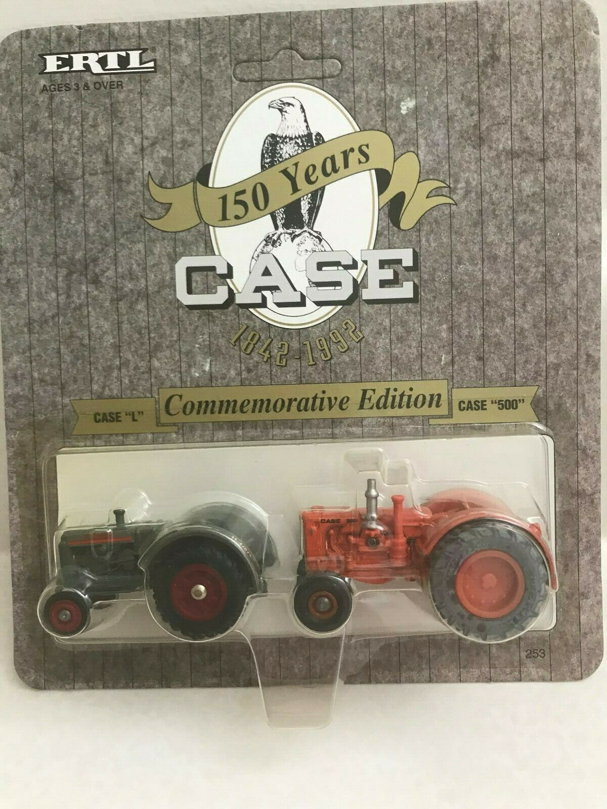 Case L and Case 500 -150 Years Commemorative Edition 1/64 scale