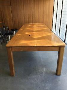 Kauri pine dining table Avalon Pittwater Area Preview