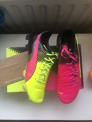 Puma EvoPower 1.3 Tricks Men's AG Artificial Ground Football Boots UK 8.5