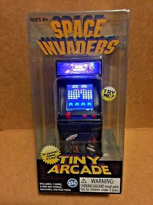 NAMCO/TAITO TINY ARCADE SPACE INVADERS WORLD'S SMALLEST ORIGINAL GAME PLAY for sale  Shipping to Canada