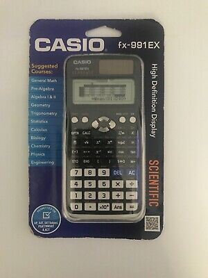 Casio FX-991EX Scientific Calculator ClassWiz QR ACT SAT PSAT AP - FREE SHIPPING for sale  Shipping to South Africa
