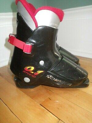Toddler Kids Nordica Super 0.1 Ski Boots Rear Entry 15.5-16.5 17.5 18.5 19.5