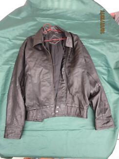 High quality men's genuine soft leather jacket