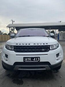 2013 Range Rover Evoque Td4 Pure 6 Sp Automatic 5d Wagon