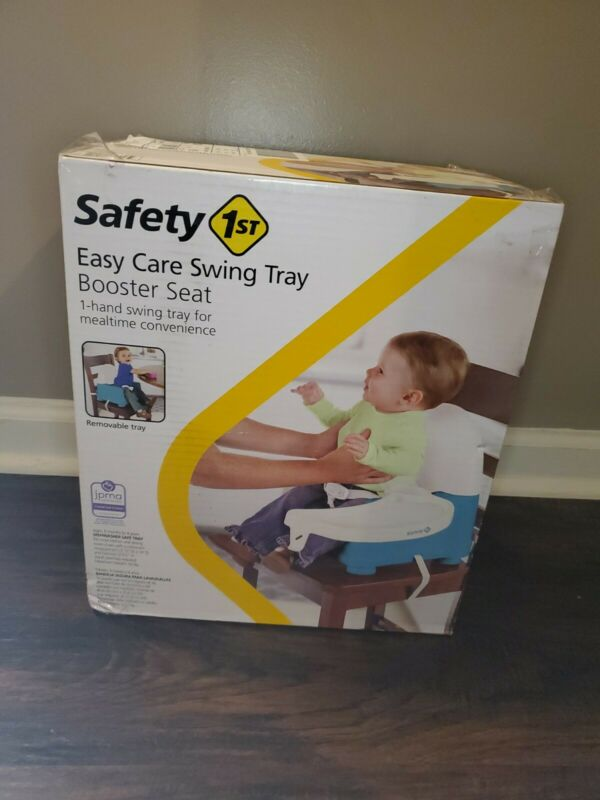 Safety 1st Easy Care Swing Tray Booster Seat; Removable Tray NEW