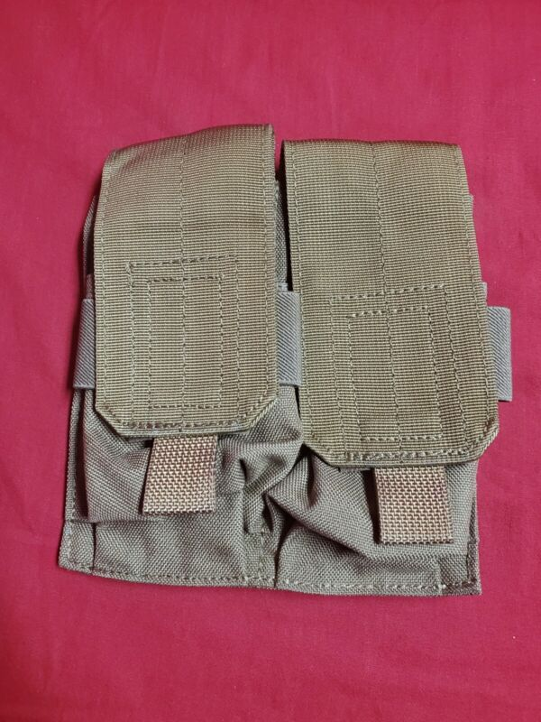 Pantac Double Mag Pouch Coyote Brown