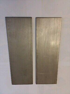 2 Pcs 14 304 Stainless Steel Flat Stock 412 Mill Finish