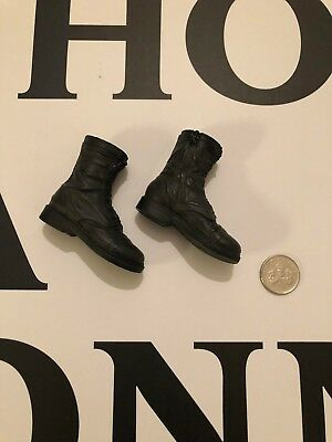 Ghostbusters Boots (BLITZWAY Ghostbusters Zeddemore Black Boots loose 1/6th)
