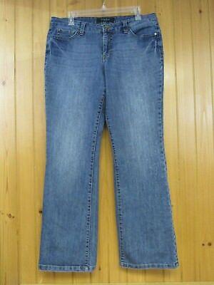 Nine West Women's Sams Santa Monica Boot Cut Jeans Size 12/30 Avg Stretch ()