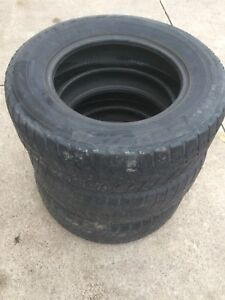 Three 225/65R16 Snow Tires