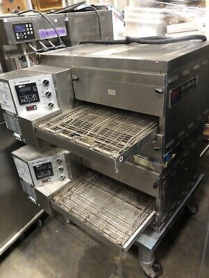 Middleby Marshall Ps520e Digital Double Stack Electric Conveyor Pizza Oven