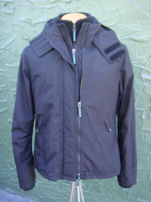 """Men's Genuine """"The Windcheater"""" Superdry Hooded Coat - Size Large"""