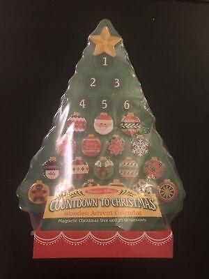 Countdown to Christmas - Wooden Advent Calendar and Melissa & Doug Scratch-Art