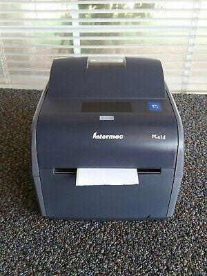 Intermec Pc43d Monochrome Thermal Barcode Label Printer - Free Shipping