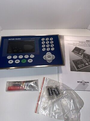 Mettler Toledo Ind570 Panel Mount W Fill Program And Output Baord