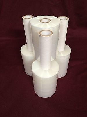 4 Rolls Clear Stretch Plastic Wrap 5 X 1000 X 80ga Stretch Wrap Stretch Film