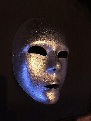 Venetian Full Face Mask (Silver) - Venetian Full Face Mask