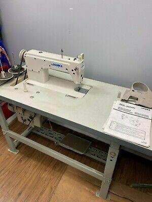 Juki Ddl-5550n New Single Needle Industrial Machine Table Servo Motor Etc
