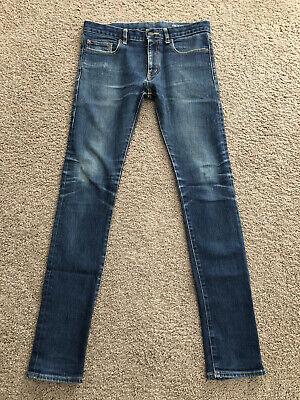 Saint Laurent Paris Slim Skinny Jeans D02 M/SK-LW Men's Size 32 x 33