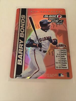 2000 MLB Showdown--1st Edition--Barry Bonds--Foil--#374 San Francisco Giants
