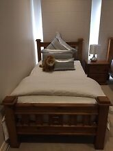 King single bed Tallboy and bedside package Epping Whittlesea Area Preview