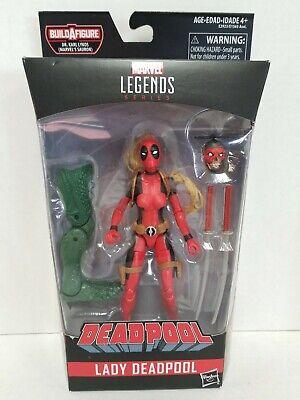 "Hasbro Marvel Legends Deadpool Series Lady Deadpool 6"" Action Figure Sauron BAF"