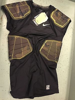 New Nike 688545 Pro Combat Hyperstrong 3.0 Compression 4 Pad Football Shirt XL