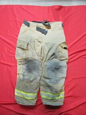 42 X 28 Cairns Reaxtion Firefighter Pants Bunker Turnout Fire Gear Rescue Towing