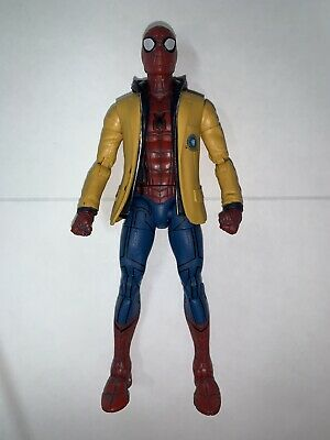 "Spider Man w/ Jacket Spiderman Homecoming 6"" Marvel Legends Series FIGURE LOOSE"