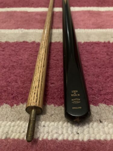 Lewis and Wilson 2pc Ash Snooker Pool Cue