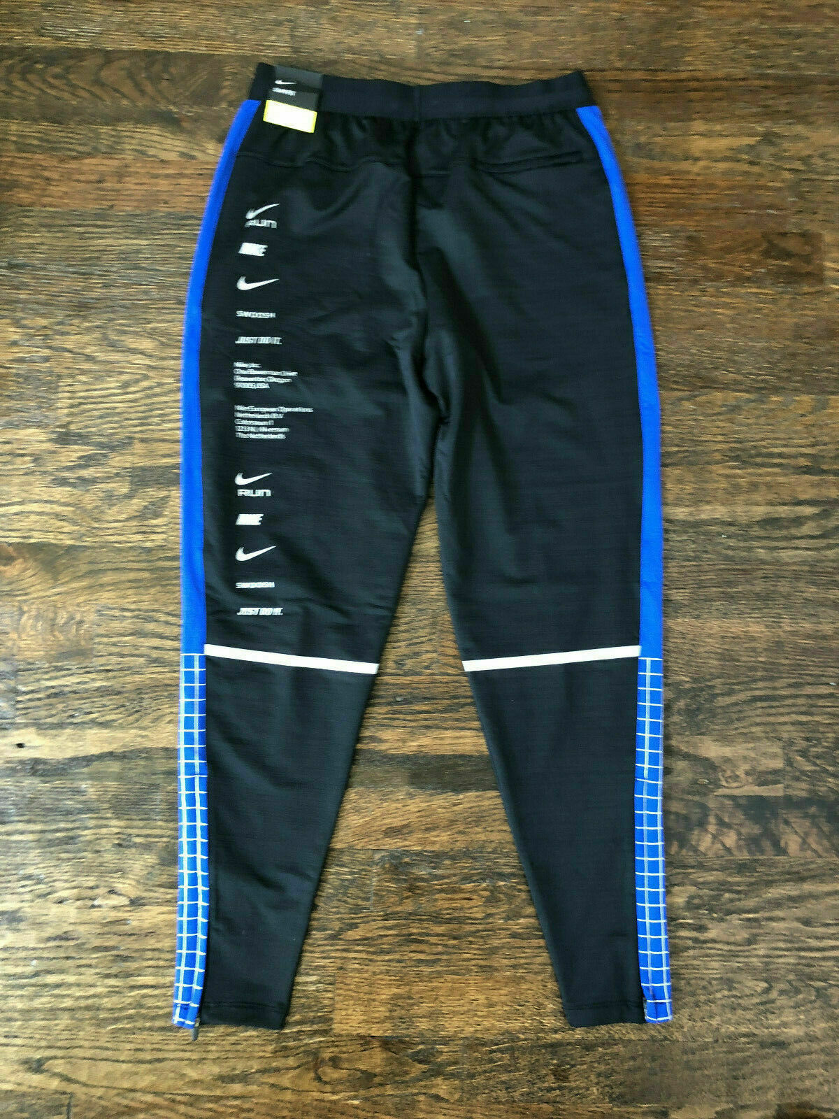 Nike Microbranding Phenom Running Pants Bq8189 010 Men's Size S Slim Fit